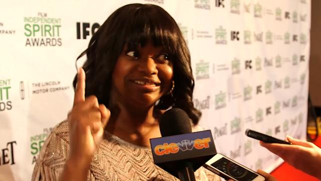 Octavia Spencer Tears Up at the Film Independent Spirit Award Nominations!