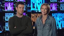 Charlize Theron and Taran Killam Promos for 'Saturday Night Live'