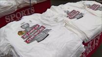 `Hawks fans rush to buy Stanley Cup championship gear