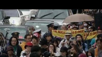 Japan nuclear restart sparks protest