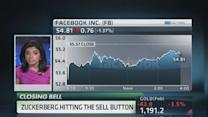 Insiders selling shares at Facebook