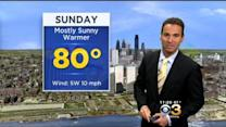 Justin's Holiday Weekend Forecast: May 23, 2015