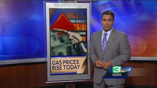 California gas prices rise due to new tax