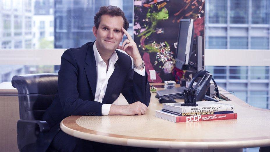 看好動畫電影發展, Anton公司大力投資拍片,公司負責人之一哈洛德凡里爾日前還赴坎城市場展洽談新片的國際版權。(翻攝自hollywoodreporter.com)