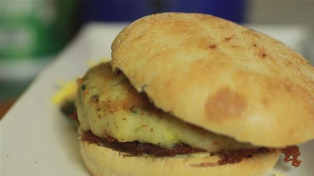 How to Make a Vegetable Pattie