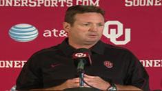 SoonerSportsTV -OU Head Coach Bob Stoops talks ULM