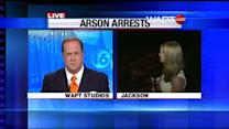 Arson Arrests Made