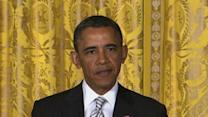 Obama Greets New Citizens, Pushes Reform