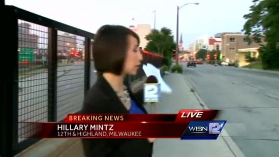 Police SUV crashes in downtown Milwaukee