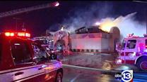 Firefighters battle blaze at west Houston Taco Bell