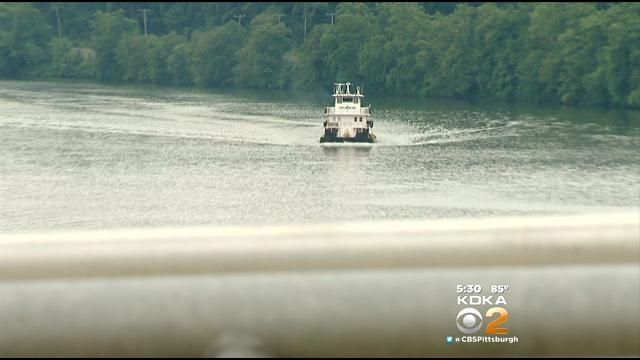 DEP Officials Investigate Sheen Seen On Mon River