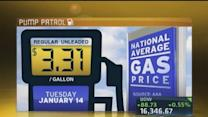 Prices at pump hold steady