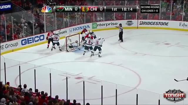 Minnesota Wild at Chicago Blackhawks - 05/04/2014