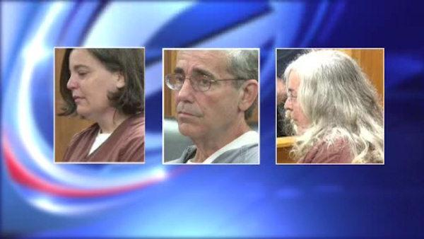 Woman, parents admit roles in ex's slaying