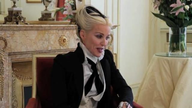 Daphne Guinness for LifeStyle Mirror