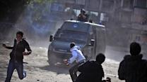 Violent clashes cut off access to US embassy in Egypt