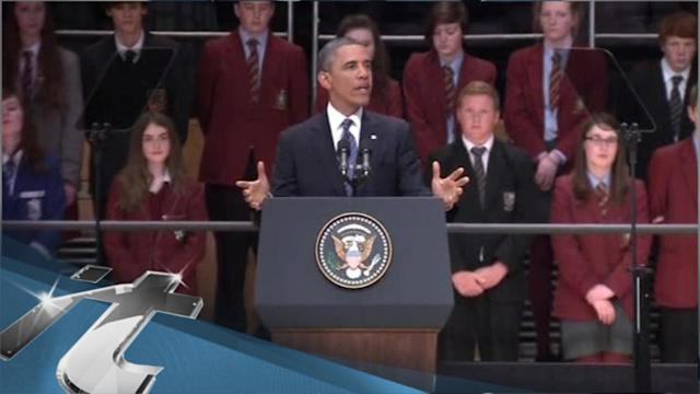 Northern Ireland Breaking News: Obama Begins Diplomatic Tour With Address to the Youth of Belfast