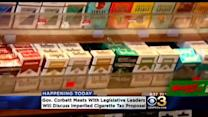 Gov. Corbett Meets With Legislative Leaders To Discuss Cigarette Tax