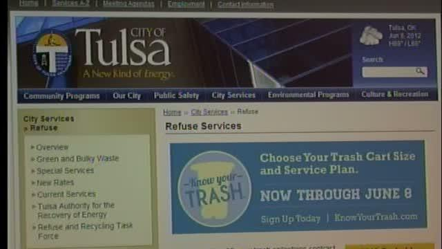 Answers to viewer questions about new Tulsa trash service