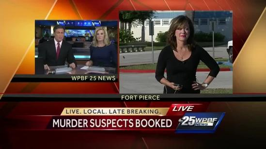 Port St. Lucie murder suspects booked into St. Lucie County Jail