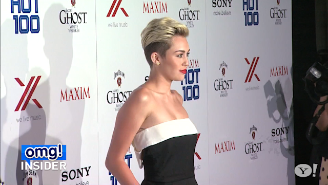 See Miley Cyrus's Maxim Makeup Malfunction