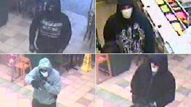Santa Ana Subway robbed 4 times; surveillance photos released
