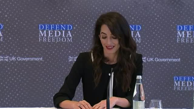 News reporting has never been more dangerous - Amal Clooney