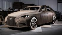 The Life-size Drivable Cardboard Lexus