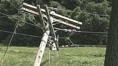 Storms Bring Down Power Lines In Lancaster County