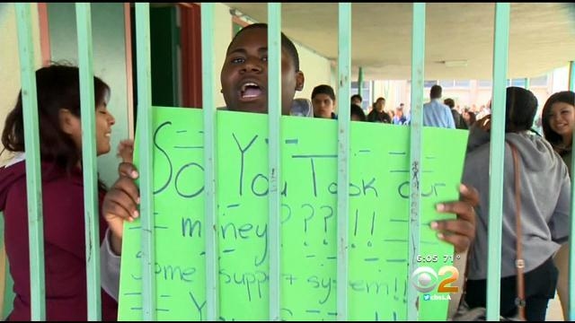 Woman Says Grandson Was Suspended For Protesting Inglewood School District's Spending