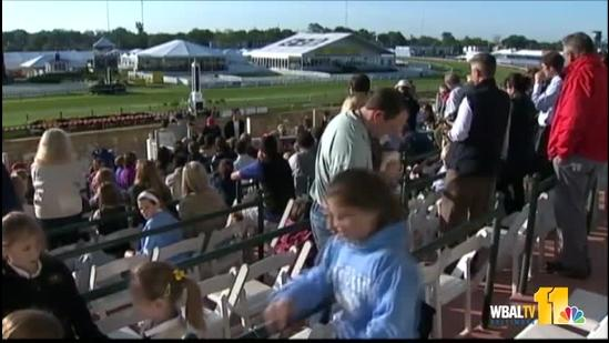 Sunrise Tours give behind-the-scenes look at Preakness