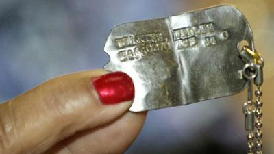 Vet Gets Back Dog Tag Lost in World War II