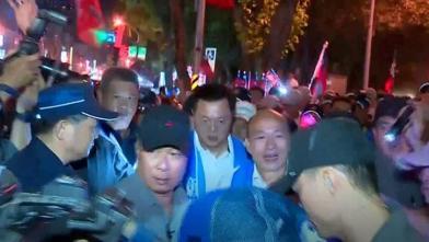 韓國瑜險遭蛋襲「盼警不要追究」