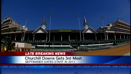 Churchill Downs to add September racing