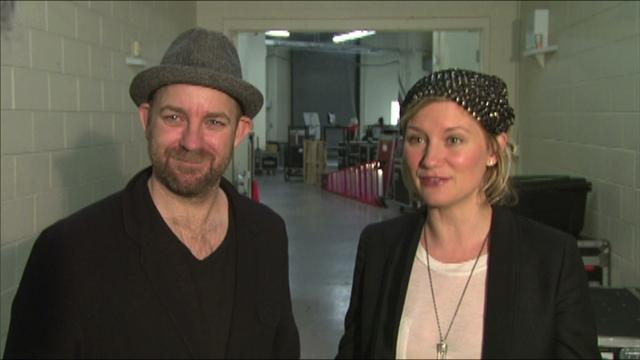 ACM Awards 2011:  Sugarland Rehearsal