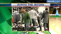Rondo plays intern at NY fashion week