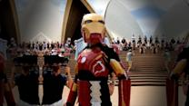 'Iron Boy' Granted Wish to Be Superhero for a Day