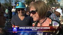 Supporters Of Gay Marriage Celebrate In Hillcrest