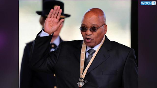 South Africa Says Zuma 'fine', Plays Down Report Of Poor Health