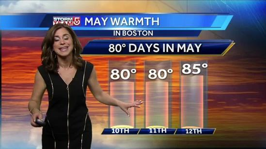 Cindy's Friday Boston-area forecast