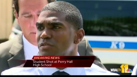 Superintendent Dallas Dance on Perry Hall High School shooting