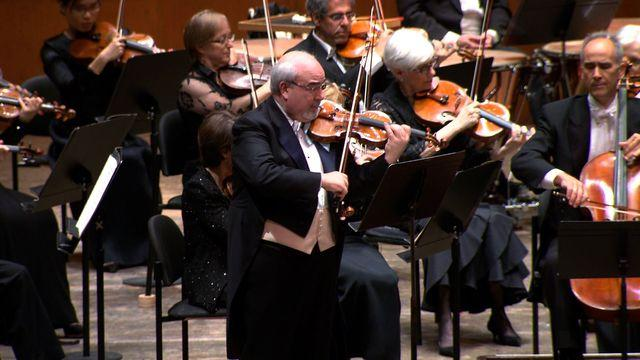 New York Philharmonic's longtime concertmaster steps down