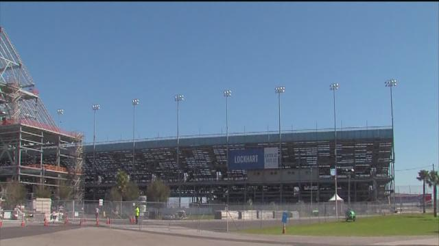 Renovations await fans at the Daytona International Speedway