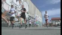 Thousands run in Bethlehem marathon