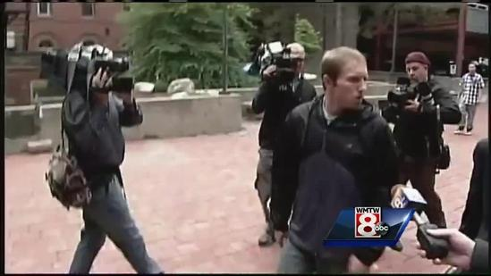 Video: Trista Reynolds confronts Justin DiPietro outside courthouse