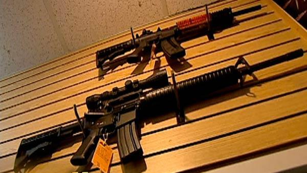 Semi-automatic weapon sales increase