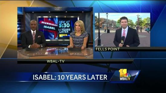 Baltimore residents remembers Hurricane Isabel