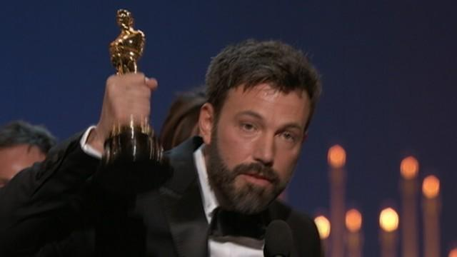Ben Affleck at Oscars: 'You Gotta Get Up'