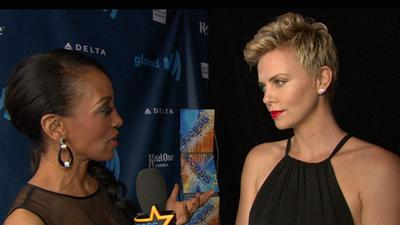 Charlize Theron Discusses Gay Rights And Marriage Equality At GLAAD Media Awards