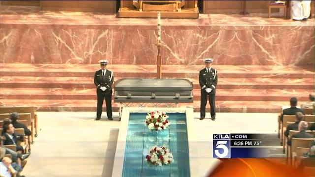 Funeral Services Held for Slain Hotshot Firefighter From Seal Beach